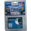 BROTHER TZE111 PTOUCH TAPE  6mmx8m Black On Clear Tape