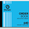 ORDER BOOK CARBON OLYMPIC #640 DUPLICATE 100X125