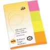PAGE MARKERS BRILLIANT PACK/160