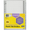 MARBIG BLACK & WHITE DIVIDERS A4 A-Z Reinf Tab Board