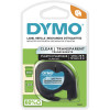 DYMO LETRA TAPE PLASTIC CLEAR