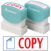 X STAMPER COPY WITH ICON RED/BLUE 2022