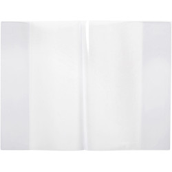 CONTACT BOOK SLEEVES A4 Clear Pack/5