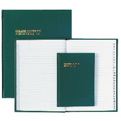 NOTEBOOK A5 A-Z 240Pg COLLINS HARD COVER
