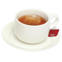 CUP & SAUCER WHITE SET OF 6 SET